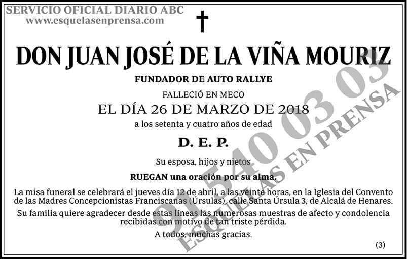 Juan José de la Viña Mouriz